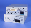 Miniature Multimode Fiber Optic RGB/YPbPr Transmission Systems